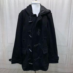 American Rag Hooded Pea Coat XL